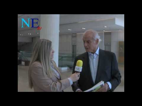 Interview with former Minister Akis Tsohatzopoulos at the Socialist International Symposiu, May 12