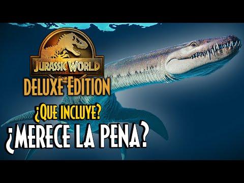 ¿MERECE LA PENA LA DELUXE EDITION DE JURASSIC WORLD EVOLUTION 2?