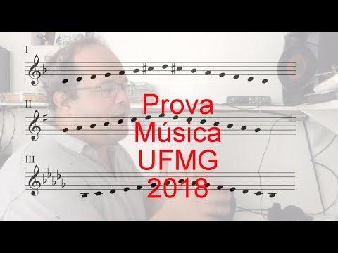 Prova Música UFMG 2018