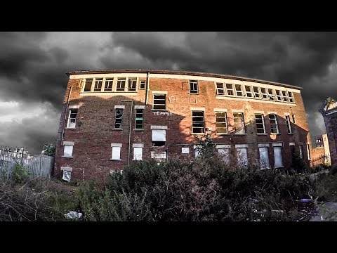 Exploring Abandoned Ship Repair Building