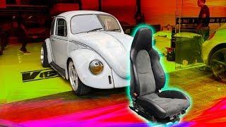 Asientos De Porsche Al Vocho!! | Juca