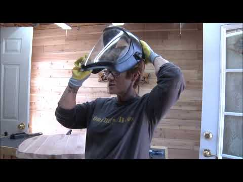 #265 Part 3 On Big Sign Sanding, Shaping, & Faux Live Edge