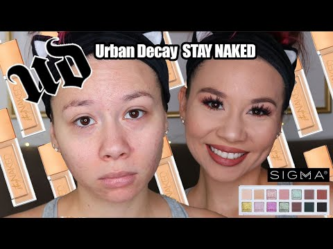 *NEW* Urban Decay Stay NAKED Foundation on ACNE! thumbnail