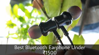 Artis BE910M Bluetooth Earphones Unboxing and review Best Bluetooth Earphones under 1500