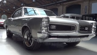 Pontiac GTO 1966 start up - exhaust sound