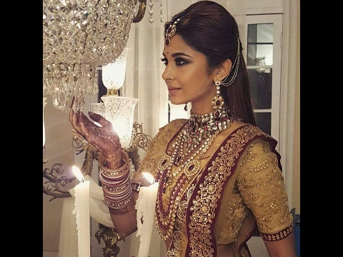 Jennifer Winget aka Maya's wedding Bridal look in Sony Tv ...