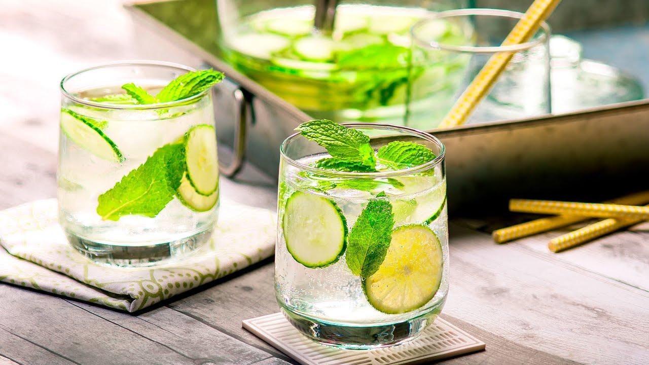 Agua de Pepino y Menta | Refrescante, Deliciosa, Y Fácil