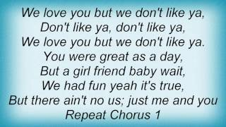 Right Said Fred - I Love You But I Don't Like You Lyrics