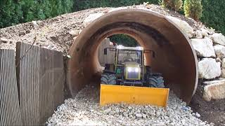 Kato HD308 1:16 Tunnel digging out and finish