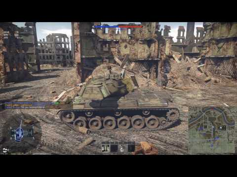 M47 vs IS6 - War Thunder Ground Forces RB