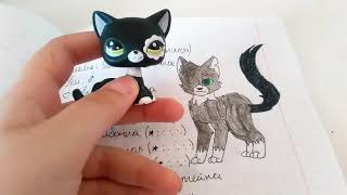 Рисунки Котов-Воителей #1
