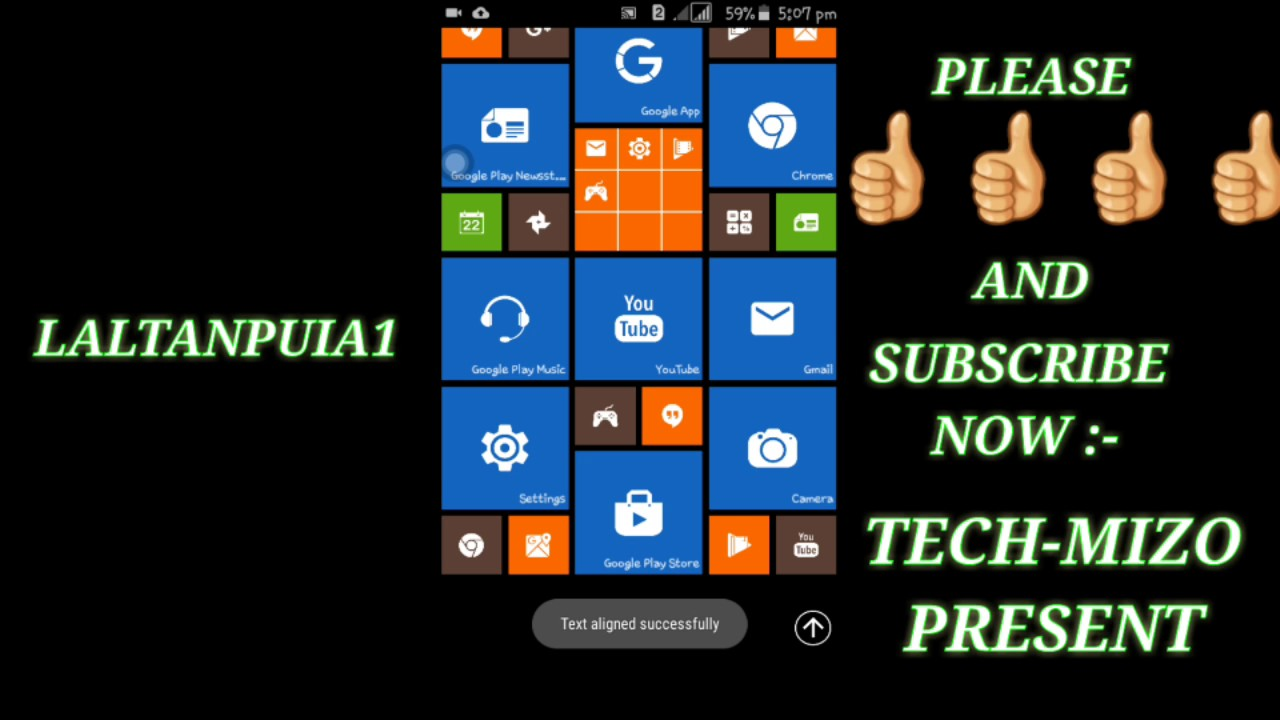 TECH-MIZO(android phone ah windows software hman dan ALSAM BER)