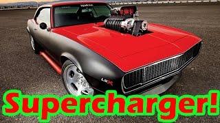 aprenda como funciona o supercharger e o blower