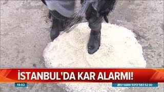 İstanbul'da kar alarmı! - Atv Haber 2 Ocak 2019