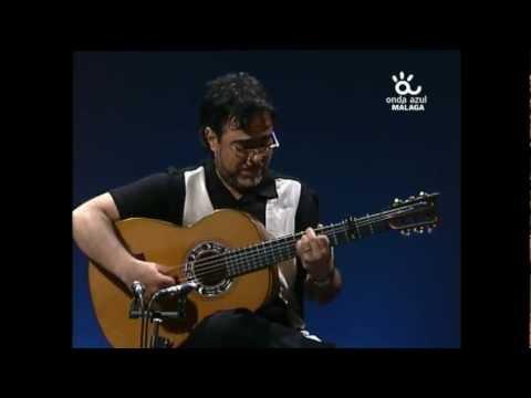 "Ruben Diaz plays ""Rio de la Miel"" (Buleria) by Paco de Lucia / Andalusian TV Show Malaga Spain"