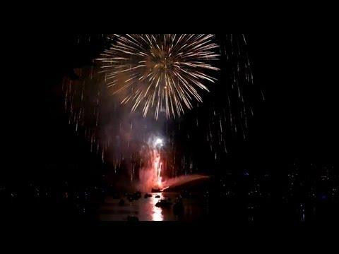 HONDA CELEBRATION OF LIGHT BRAZIL 2012 FIRE WORKS VANCOUVER
