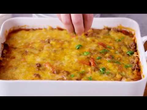 Beef Tortilla Taco Casserole I Pillsbury Recipe