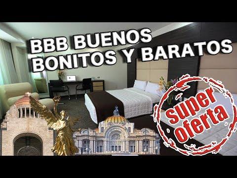 5 Mejores HOTELES BARATOS En La CDMX