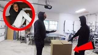 24 Hours Overnight inside a Secret Mystery Box! (New Evidence of Code 10 Hypnotized)