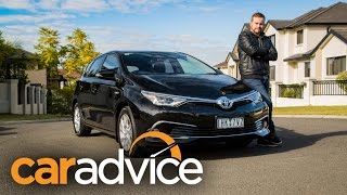 2016 Toyota Corolla Hybrid review | CarAdvice
