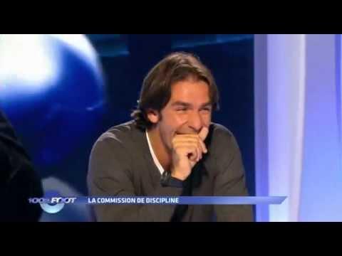 100% Foot - M6 - La commission de discipline - Julien Cazarre - Robert Pires.