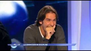 100% Foot - M6 - La commission de discipline - Julien Cazarre - Robert Pires.