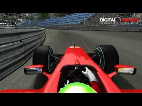 Digital-Racing.net F109 Hotlap Monaco 1:11.801