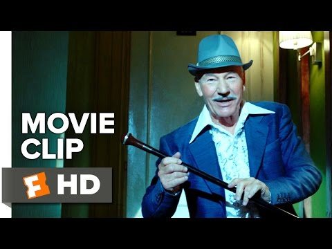 Hunting Elephants Movie CLIP - Finiculi Finicula (2015) - Patrick Stewart Comedy HD