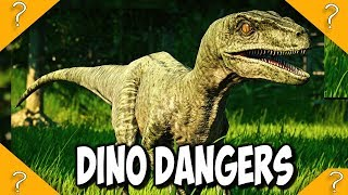 DANGERS the free dinosaurs NOW face