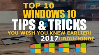 Top 10 Hidden Tricks of Windows 10 You Should Know for Free | You Wish You Knew Earlier | Urdu/Hindi