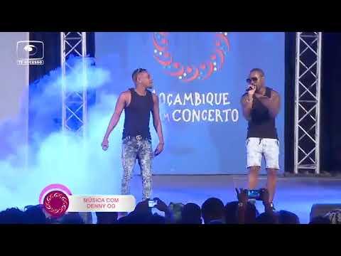 Denny OG Ao Lado Do Vizzow Nice Alegram Famílias No Programa Moçambique Em Concerto