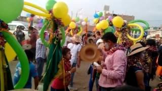 Carnaval de Sangayaico en Lima 2016