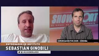 Instituto Basquet   Sebastian Ginobili en El Show En La Red 24 09 2020