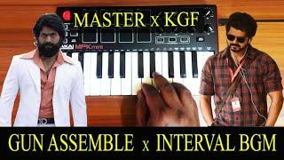 KGF - Gun Assemble x Master Interval | Mass Bgm By Raj Bharath | Ravi Basrur | Anirudh