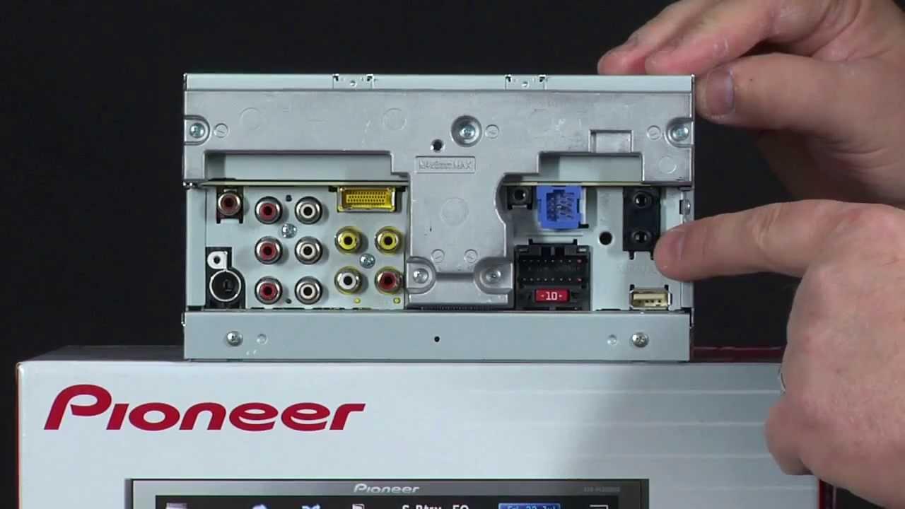 Estereo Para Auto Pioneer Avh P4300dvd Receptor Av De Ipod