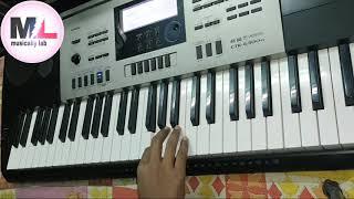 ek aisa woh jaha tha    south romantic song   piano cover by- rks   