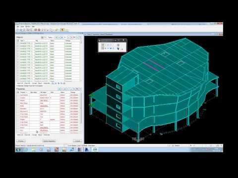 ISM process for RAM Structural System and Revit Structure
