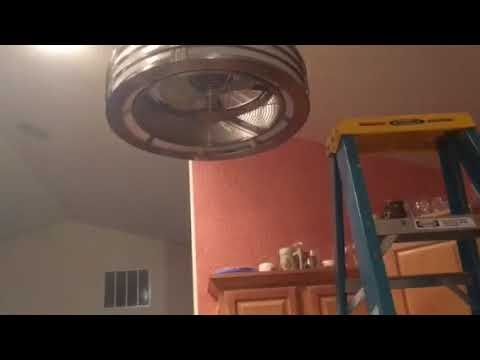 Fanimation Beckwith Ceiling Fan In My Kitchen Youtube