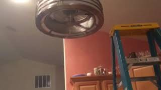Fanimation Beckwith ceiling fan in my kitchen