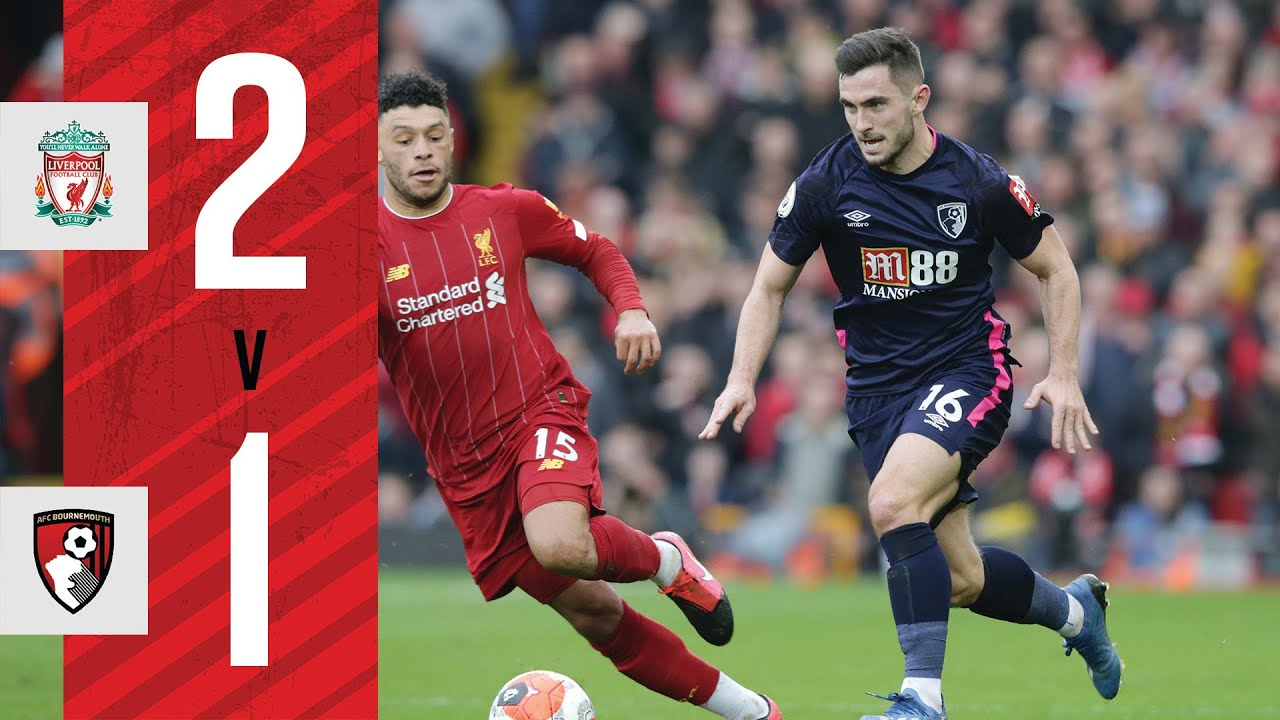 NARROW DEFEAT AT ANFIELD 😩   Liverpool 2-1 AFC Bournemouth