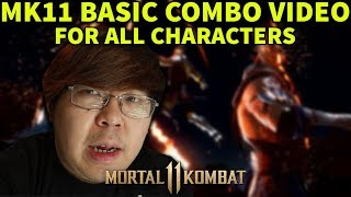 Mortal Kombat 11 BASIC KOMBOS FOR EVERY CHARACTER