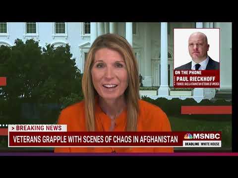 MSNBC - DEADLINE WHITE HOUSE: REACTION TO BIDEN'S AFGHANISTAN SPEECH