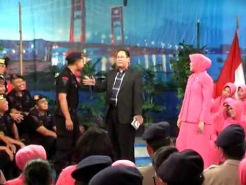 Gayung Bersambut TVRI Palembang Sumsel 11 November 2013 Satbrimob Polda Sumsel
