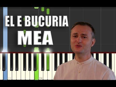 Alin si Emima Timofte - El e bucuria mea [Piano Tutorial] by Betacustic