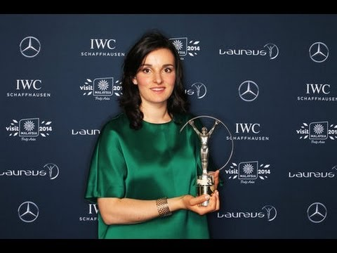 France's Marie Bochet wins Laureus Award