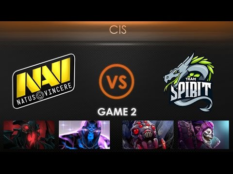 Natus Vincere vs Team Spirit Game 2 - Kiev Major CIS Qualifier: Playoffs - @LDdota @GarethCasts