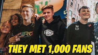 NRG Fortnite CRAZY Meetup at World Cup NYC Vlog | MrSavage, BenjyFishy, Symfuhny & More