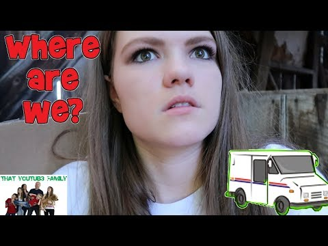 WE LOST THE KIDS IN THE MAIL!  WHERE DID THEY GO? SKIT/ That YouTub3 Family