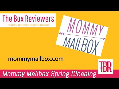 Mommy Mailbox- Spring Cleaning Grab Box Review- The Box Reviewers