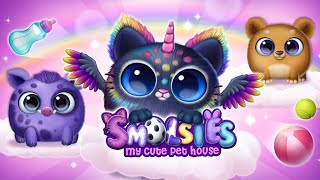 Get to Know New Squishy Pets!😺 Smolsies - My Cute Pet House | TutoTOONS Cartoons & Games for Kids